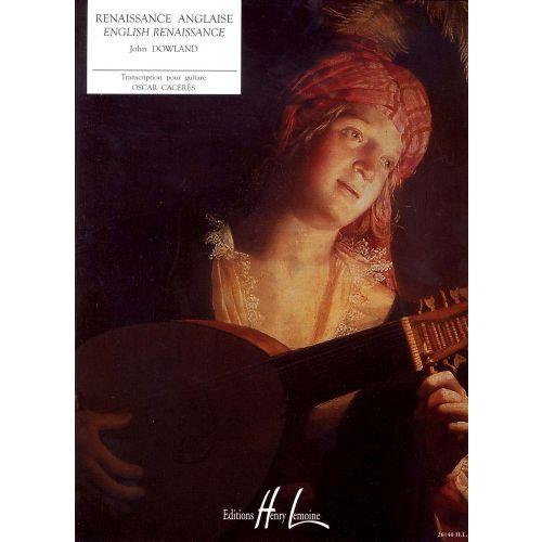 LEMOINE DOWLAND JOHN - RENAISSANCE ANGLAISE - GUITARE