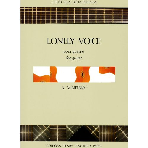 LEMOINE VINITSKY ALEXANDER - LONELY VOICE - GUITARE