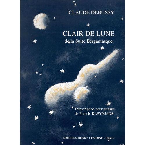 LEMOINE DEBUSSY CLAUDE - CLAIR DE LUNE - GUITARE