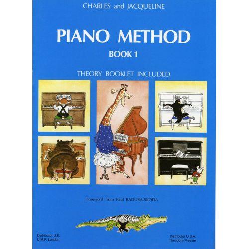 LEMOINE HERVE C./ POUILLARD J. - PIANO METHOD BOOK 1 - PIANO