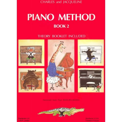 LEMOINE HERVE C./ POUILLARD J. - PIANO METHOD BOOK 2 - PIANO
