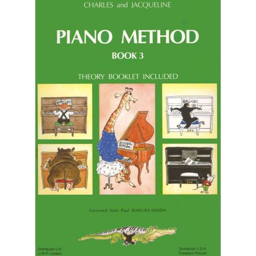 LEMOINE HERVE C./ POUILLARD J. - PIANO METHOD BOOK 3 - PIANO