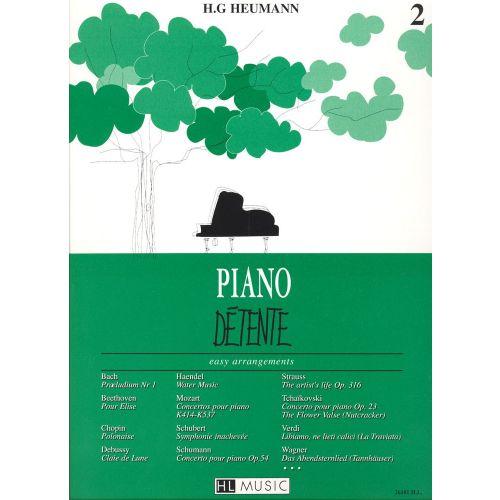 LEMOINE HEUMANN HANS-GÜNTER - PIANO DÉTENTE VOL.2