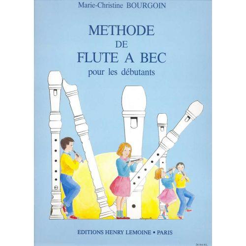 LEMOINE BOURGOIN M.C. - MÉTHODE DE FLÛTE À BEC