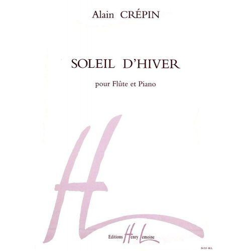 LEMOINE CREPIN ALAIN - SOLEIL D'HIVER - FLUTE, PIANO