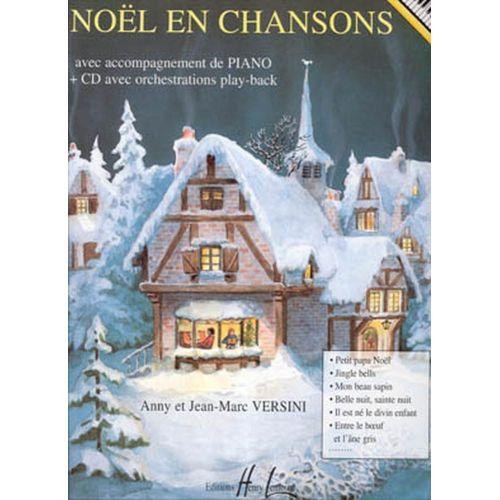 LEMOINE VERSINI JEAN-MARC EN CHANSONS + CD - PIANO
