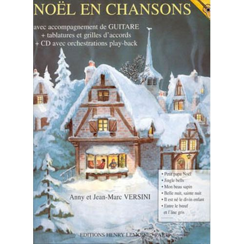 LEMOINE VERSINI JEAN-MARC EN CHANSONS + CD - GUITARE