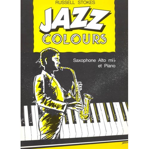 LEMOINE STOKES RUSSELL - JAZZ COLOURS - SAXOPHONE MIB, PIANO