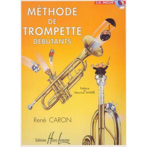 LEMOINE CARON RENÉ - MÉTHODE DE TROMPETTE + CD