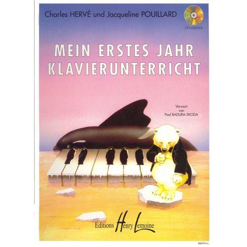 LEMOINE HERVE C./ POUILLARD J. - MEIN ERSTES JAHR KLAVIERUNTER - PIANO