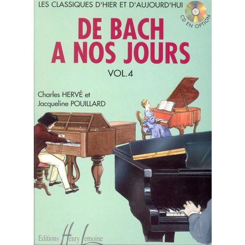 LEMOINE HERVE C. / POUILLARD J. - DE BACH À NOS JOURS VOL.4 - PIANO