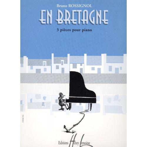 LEMOINE ROSSIGNOL BRUNO - EN BRETAGNE - PIANO