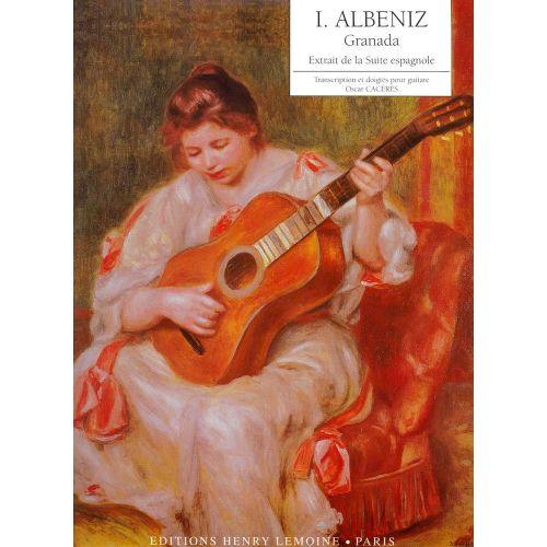 LEMOINE ALBENIZ IZAAC - GRANADA - GUITARE