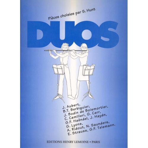 LEMOINE HUNT SIMON - DUOS - 2 FLUTES