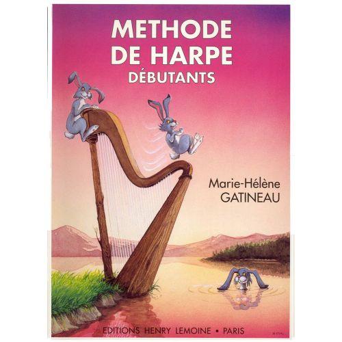 LEMOINE GATINEAU MARIE-HÉLÈNE - MÉTHODE DE HARPE VOL.1