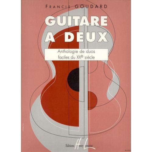 LEMOINE GOUDARD FRANCIS - GUITARE A DEUX - 2 GUITARES