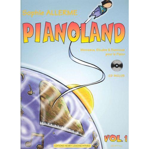 LEMOINE ALLERME SOPHIE - PIANOLAND VOL.1 + CD