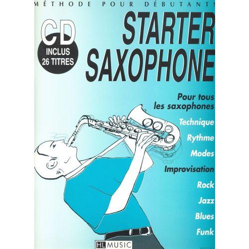 LEMOINE TRUET FREDERIC - STARTER SAXOPHONE + CD