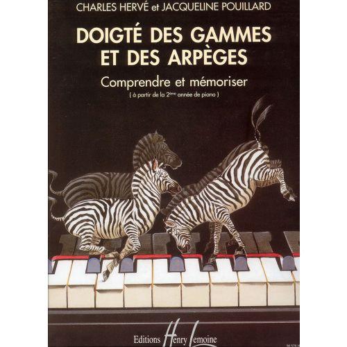 LEMOINE HERVE C. / POUILLARD J. - DOIGTÉ DES GAMMES ET ARPÈGES - PIANO