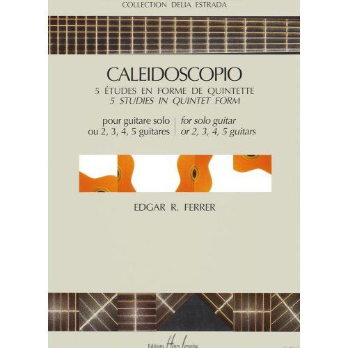 LEMOINE FERRER EDGAR R. - CALEIDOSCOPIO - GUITARE