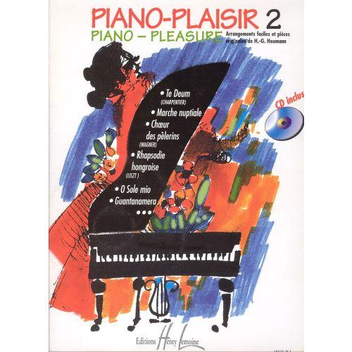 LEMOINE HEUMANN HANS-GUNTER - PIANO-PLAISIR VOL.2 + CD