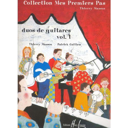 LEMOINE MASSON T. / GUILLEM P. - DUOS DE GUITARES VOL.1
