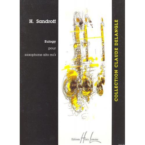 LEMOINE SANDROFF HOWARD - EULOGY - SAXOPHONE ALTO SOLO
