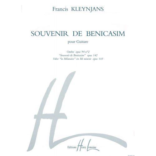 LEMOINE KLEYNJANS F. - SOUVENIR DE BENICASIM - GUITARE