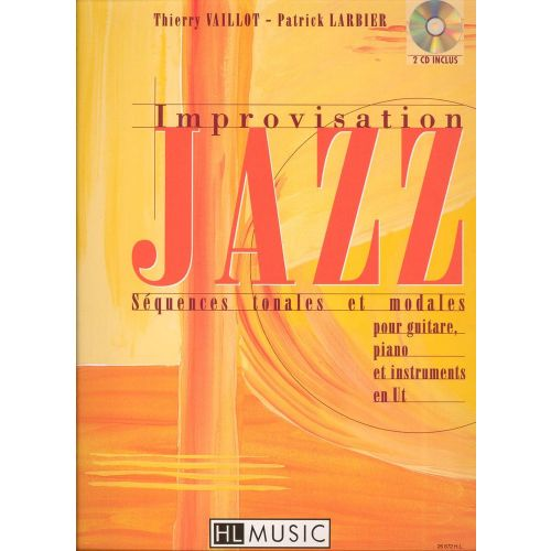 LEMOINE LARBIER P. / VAILLOT T. - IMPROVISATION JAZZ VOL.1 + CD - CLAVIER