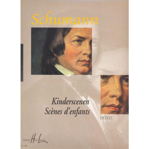 LEMOINE SCHUMANN R. - KINDERSCENEN - SCENES D'ENFANTS OP.15 - PIANO
