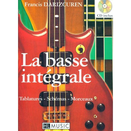 LEMOINE DARIZCUREN FRANCIS - BASSE INTÉGRALE + CD