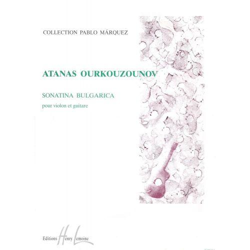 LEMOINE OURKOUZOUNOV ATANAS - SONATINA BULGARICA - GUITARE
