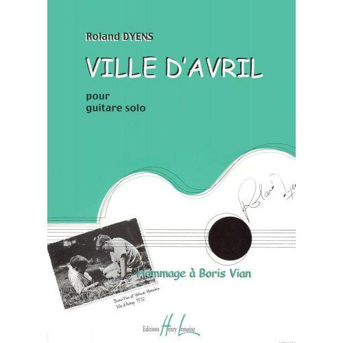 LEMOINE DYENS ROLAND - VILLE D'AVRIL - ENSEMBLE GUITARES