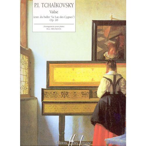 LEMOINE TCHAIKOVSKY P.I. - VALSE EXTRAIT DU LAC DES CYGNES - PIANO