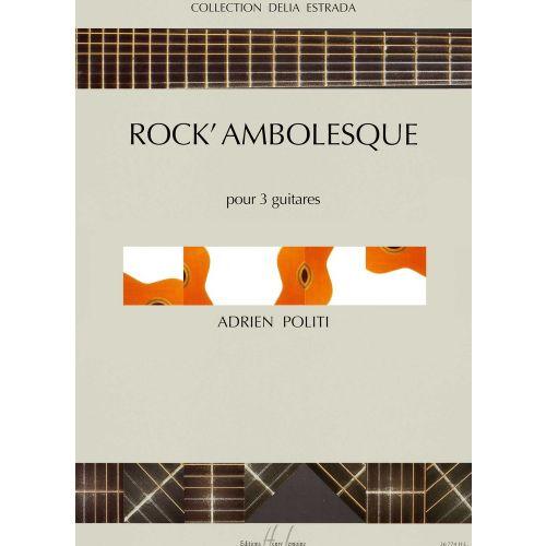 LEMOINE POLITI ADRIEN - ROCK'AMBOLESQUE - 3 GUITARES