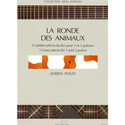 LEMOINE POLITI ADRIEN - RONDE DES ANIMAUX - 1 OU 2 GUITARES