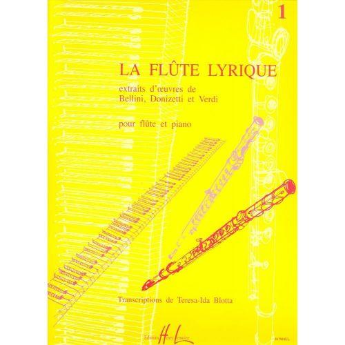 LEMOINE LA FLÛTE LYRIQUE VOL.1 - FLUTE, PIANO