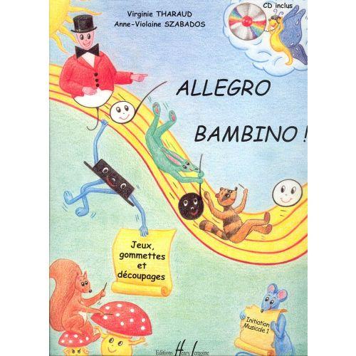 LEMOINE THARAUD V. / SZABADOS A.V. - ALLEGRO BAMBINO + CD