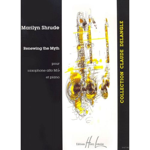 LEMOINE SHRUDE MARILYN - RENEWING THE MYTH - SAXOPHONE, PIANO