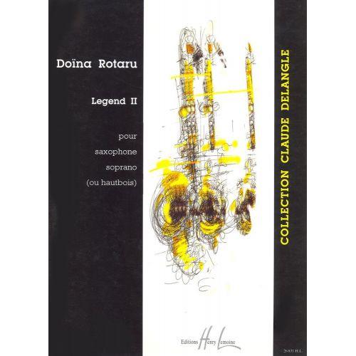 LEMOINE ROTARU DOÏNA - LEGEND II - SAXOPHONE OU HAUTBOIS