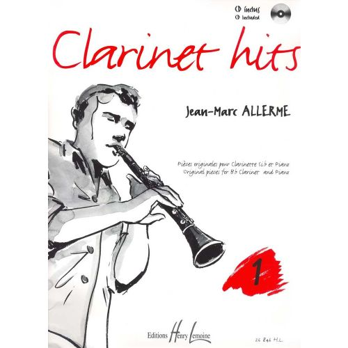 LEMOINE ALLERME JEAN-MARC - CLARINET HITS VOL.1 + CD