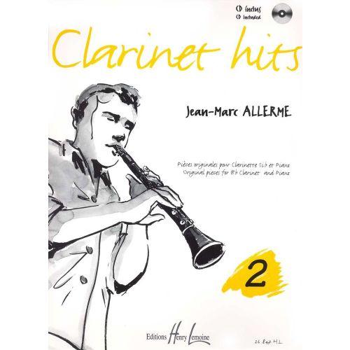 LEMOINE ALLERME JEAN-MARC - CLARINET HITS VOL.2 + CD - CLARINETTE, PIANO