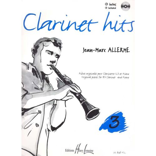 LEMOINE ALLERME JEAN-MARC - CLARINET HITS VOL.3 + CD - CLARINETTE, PIANO