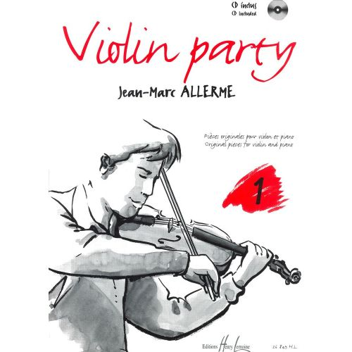 LEMOINE ALLERME JEAN-MARC - VIOLIN PARTY VOL.1 + CD - VIOLON, PIANO