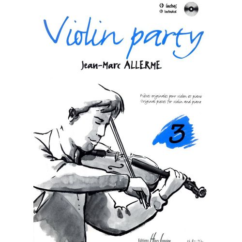 LEMOINE ALLERME JEAN-MARC - VIOLIN PARTY VOL.3 + CD - VIOLON, PIANO