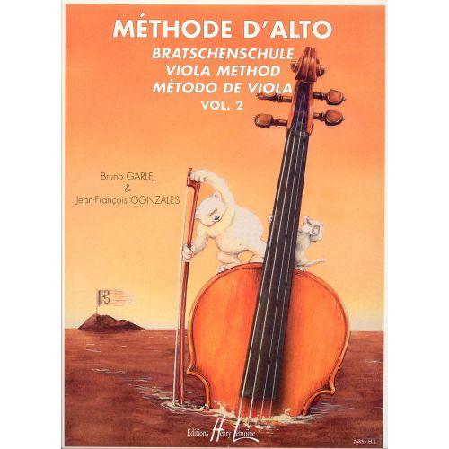 LEMOINE GARLEJ B. / GONZALES J.-F. - MÉTHODE D'ALTO VOL.2