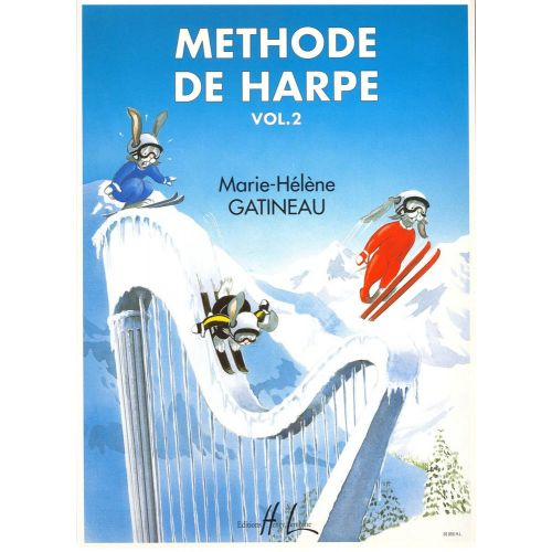 LEMOINE GATINEAU MARIE-HELENE - METHODE DE HARPE VOL.2 - HARPE