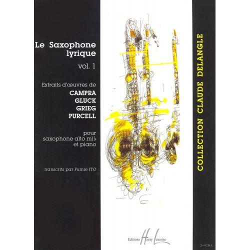 LEMOINE ITO FUMIE - SAXOPHONE LYRIQUE VOL.1 - SAXOPHONE MIB, PIANO