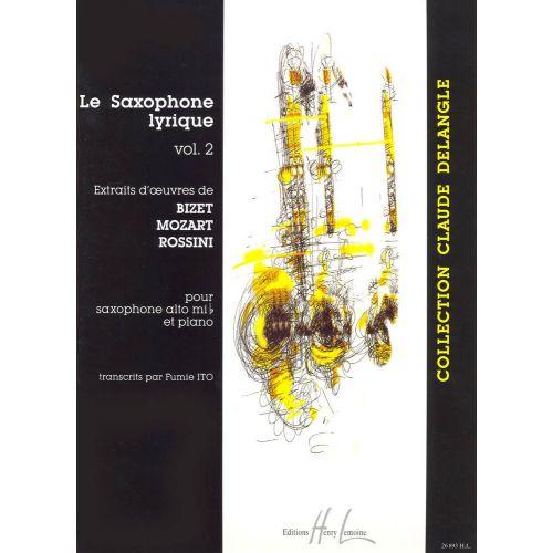 LEMOINE ITO FUMIE - SAXOPHONE LYRIQUE VOL.2 - SAXOPHONE MIB, PIANO