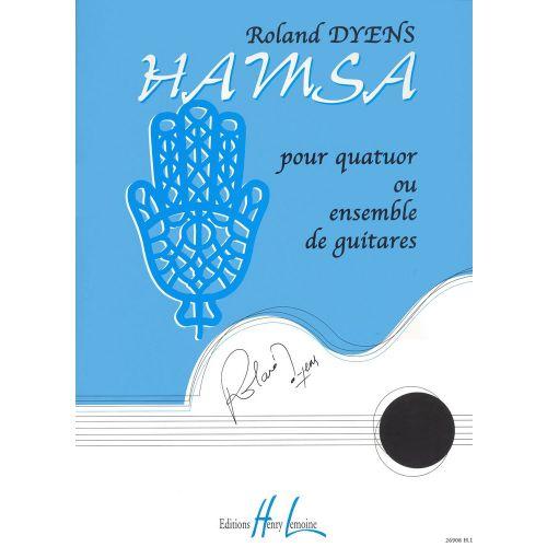 LEMOINE DYENS ROLAND - HAMSA - ENSEMBLE GUITARES